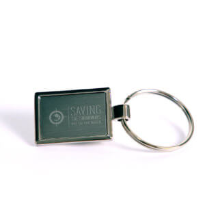 Metal Engraved Keyring
